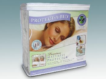 4ft x 6ft 3 Protect-A-Bed Premium Waterproof Towelling Small Double Mattress Protector