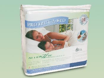 6ft x 6ft 6 Protect-A-Bed AllerZip Smooth Waterproof Super King Size Mattress Protector