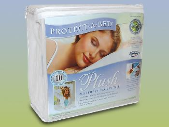 6ft x 6ft 6 Protect-A-Bed Plush Waterproof Super King Size Mattress Protector