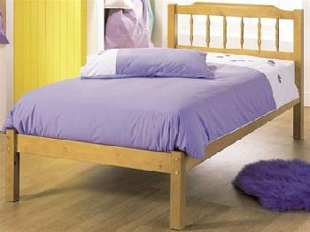 AirSprung Seattle 3' Single Slatted Bedstead Wooden Bed