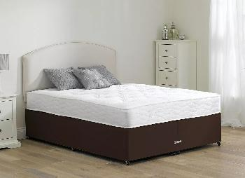 Beaumont Pocket Sprung Divan Bed - Firm - Mocha - 4'0 Small Double