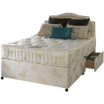 Small double beds compare prices save page 26 for Cheap small double divan beds