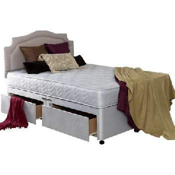 Bedmaster Venice Divan Bed Double-No Drawers-Without Zip Link