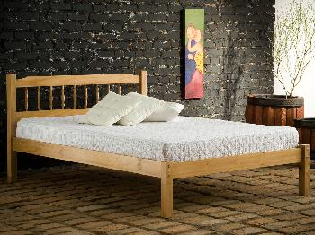 Birlea 4ft Santos Small Double Pine Bed Frame