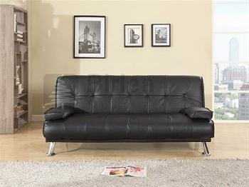 Birlea Logan 4' Small Double Brown Sofa Bed Other Sofa Bed