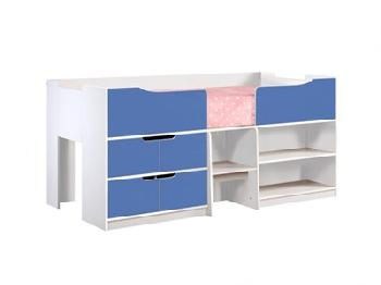 Birlea Paddington Cabin Bed 3' Single Paddington Blue Cabin Bed