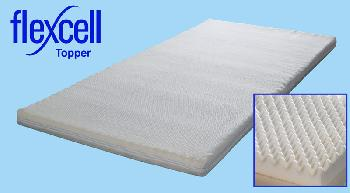 Breasley Flexcell 600 Memory Mattress Topper, Single