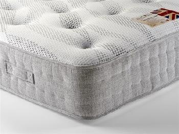 British Bed Company Cotton Pocket 1400 Chenille 5' King Size