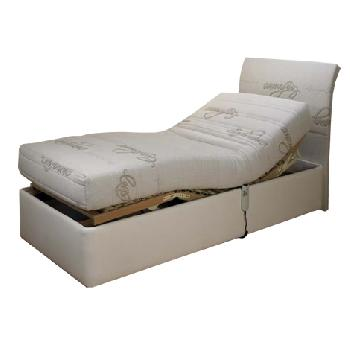 Cassandra Latex Adjustable Bed Set Cassandra Single End Drawer No Massage No Heavy Duty