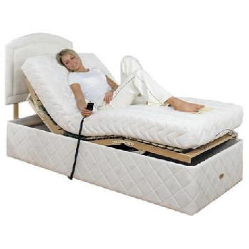 Chloe Memory Adjustable Bed Set Chloe Small Single 2 Drawer Bolt On Massage With Heavy Duty