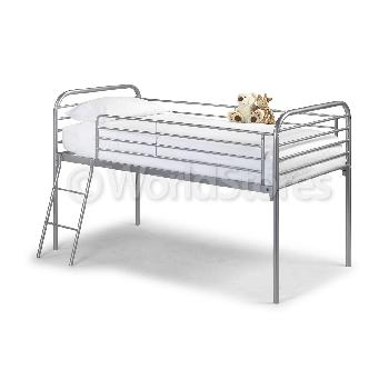 Classic Metal Midsleeper Bed Frame Mid Sleep Classic Mattress