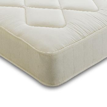 Contract Shire Rainbow Coil Mattress Double Navy