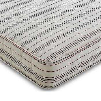 Contract Shire Salisbury Coil Mattress Small Double Red Stripe