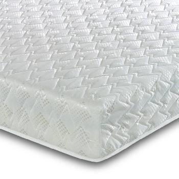 Deluxe Memory Coil Mattress and Pillows - Small Single