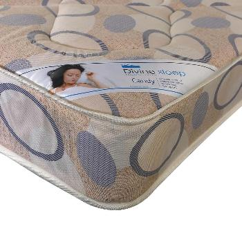 Divine Sleep Candy Coil Sprung Mattress Small Double