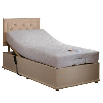 Divine Sleep Paris Memory Visco Adjustable Bed Set Single