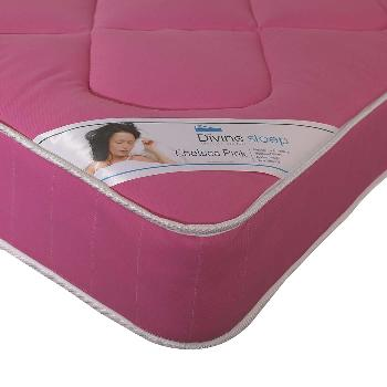 Divine Sleep Pink Chelsea Mattress Single