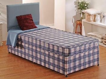 Dura Budget Single Divan Bed