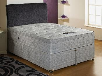 Dura savoy pocket 1000 double mattress double pocket for Cheap king size divan