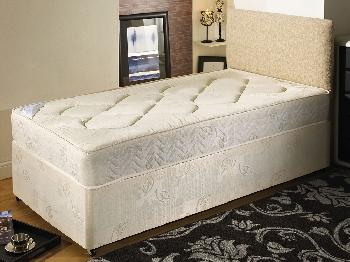 Dura York Damask Single Divan Bed