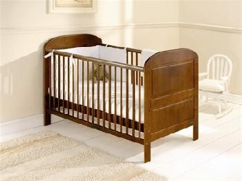 East Coast Nursery Angelina Cot Bed in Cocoa Cot Bed