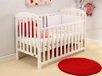 East Coast Nursery Anna Cot (White) Cot Bed