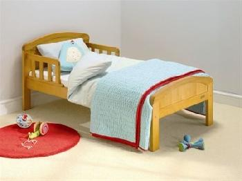 East Coast Nursery Country Toddler Bed in Antique Pine Toddler Bed