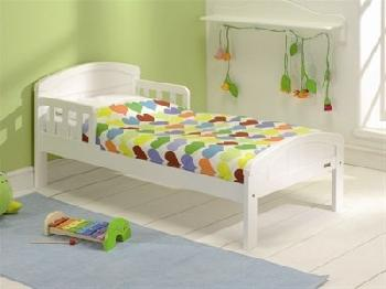 East Coast Nursery Country Toddler Bed in Pure White Toddler Bed