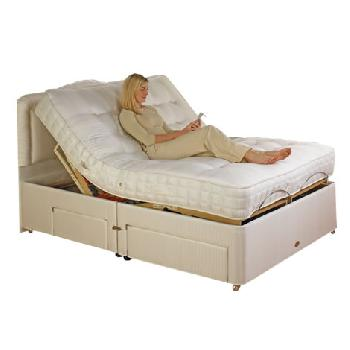 Emily Memory Pocket Adjustable Bed Set Emily Single 2 Drawer No Massage No Heavy Duty
