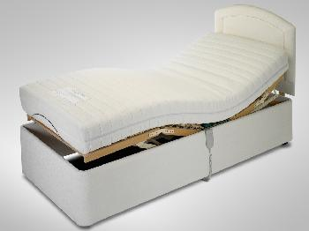 Furmanac 2ft 6 MiBed Perua Electric Adjustable Small Single Bed