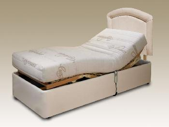 Furmanac MiBed Cassandra Latex Electric Adjustable Single Bed