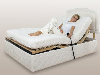 Furmanac Mibed Chloe Electric Adjustable Double Bed