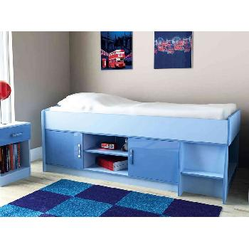 GFW Ottawa 2 Tone Blue Cabin Bed Blue