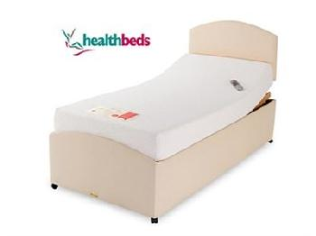Healthbeds Ltd Memoryflex-matic 3' Single Adjustable Bed - No Drawers Electric Bed