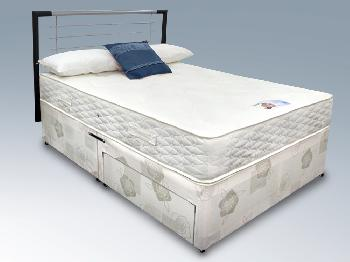 Highgrove cirrus 160 x 200 euro ikea size king divan bed for Cheap king size divan