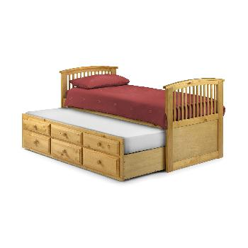 Hornblower Bed in Pine Pine