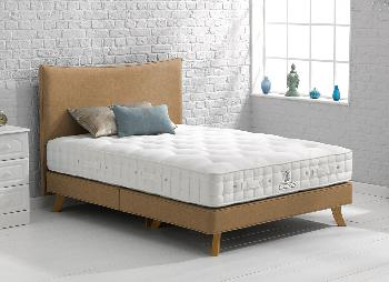 Hypnos Beckett Pocket Sprung Divan Bed With Legs - Medium - 4'6 Double