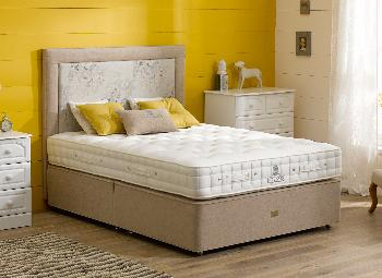 Hypnos orwell pocket sprung divan bed firm 4 39 6 double for Cheap 4 foot divan beds