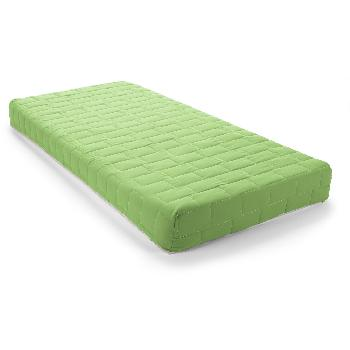 Jazz Coil Sprung Mattress - Double - Lime Green