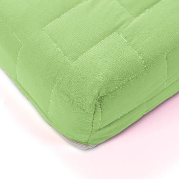 Jazz Coil Sprung Mattress - Small Double - Lime Green