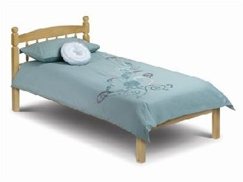 Julian Bowen Pickwick 3' Single Natural Wooden Bed