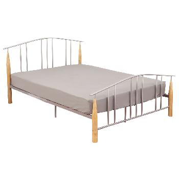 Liberty Silver Bed Frame - Kingsize
