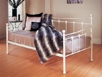 Limelight Sirus Day Bed 3' Single Ivory Metal Bed