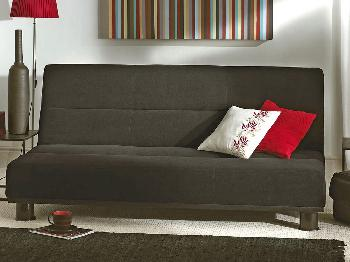 Limelight Triton Black 3 Seater Sofa Bed