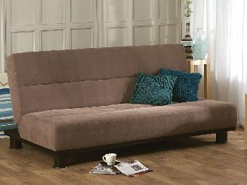 Limelight Triton Brown 3 Seater Sofa Bed