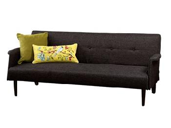 Limelight Vega 4' Small Double Grey Other Sofa Bed