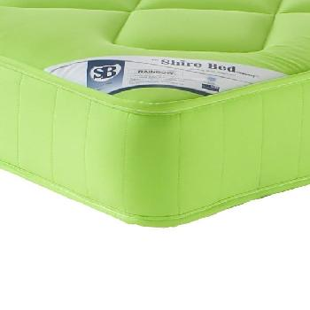 Living Shire Rainbow Mattress Small Double Pistachio