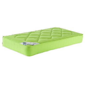 Living Shire Rainbow Mattress Small Single Pistachio