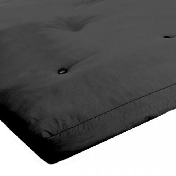 MemoryPedic Memory Futon Mattress 2 Seat - Black