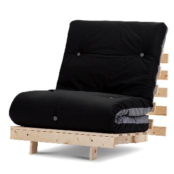 Mito Single Futon Black